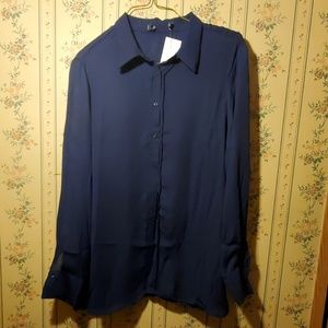 Tops - 2/$10 Button Down Blouse